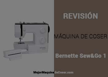 Máquina de Coser Bernina Sew&Go1