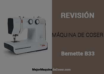 Máquina de Coser Bernina B33