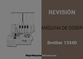 Máquina Remalladora Brother 1334D