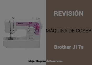 Máquina de Coser Brother J17s