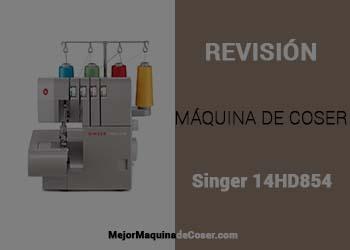 Máquina Remalladora Singer 14hd854