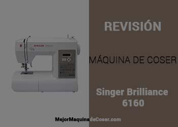 Máquina de Coser Singer Brilliance 6160