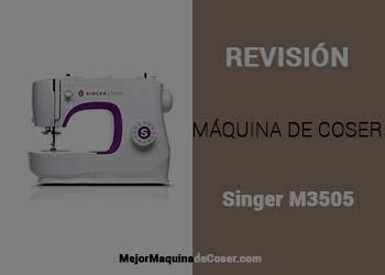 Máquina de Coser Singer M3505