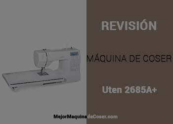 Máquina de Coser Uten 2685A+